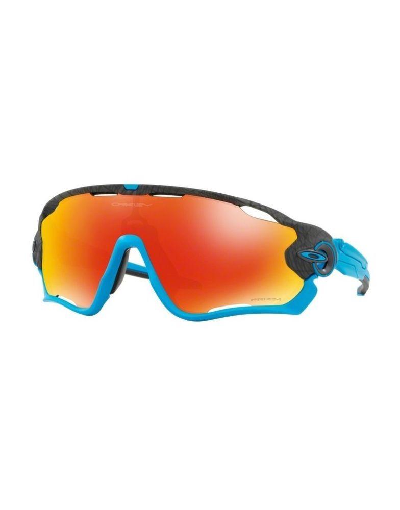 0e3869529173 Sunglasses OAKLEY JAWBREAKER 9290-33 Aero Grid Grey Prizm Ruby (eBay Link)