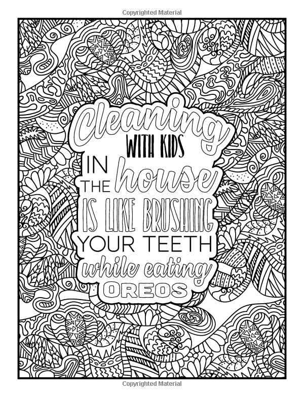 mom life an coloring book humorous coloring books for