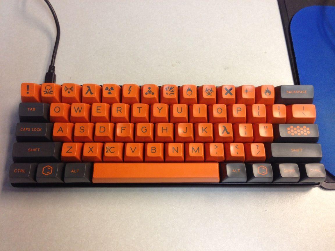 Carbon - Orange Alphas in 2019   mechanical keyboards   Keyboard