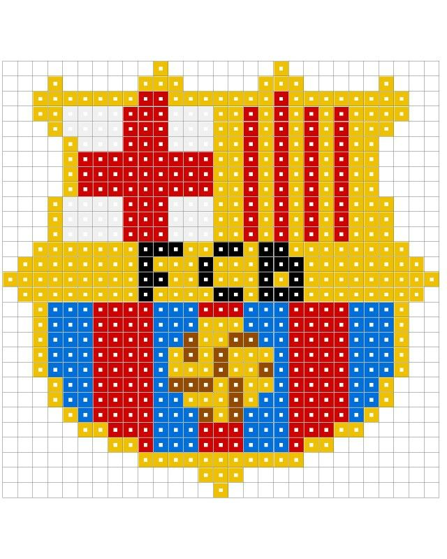 Barcelona Hama Beads Hama Hama Beads Minecraft