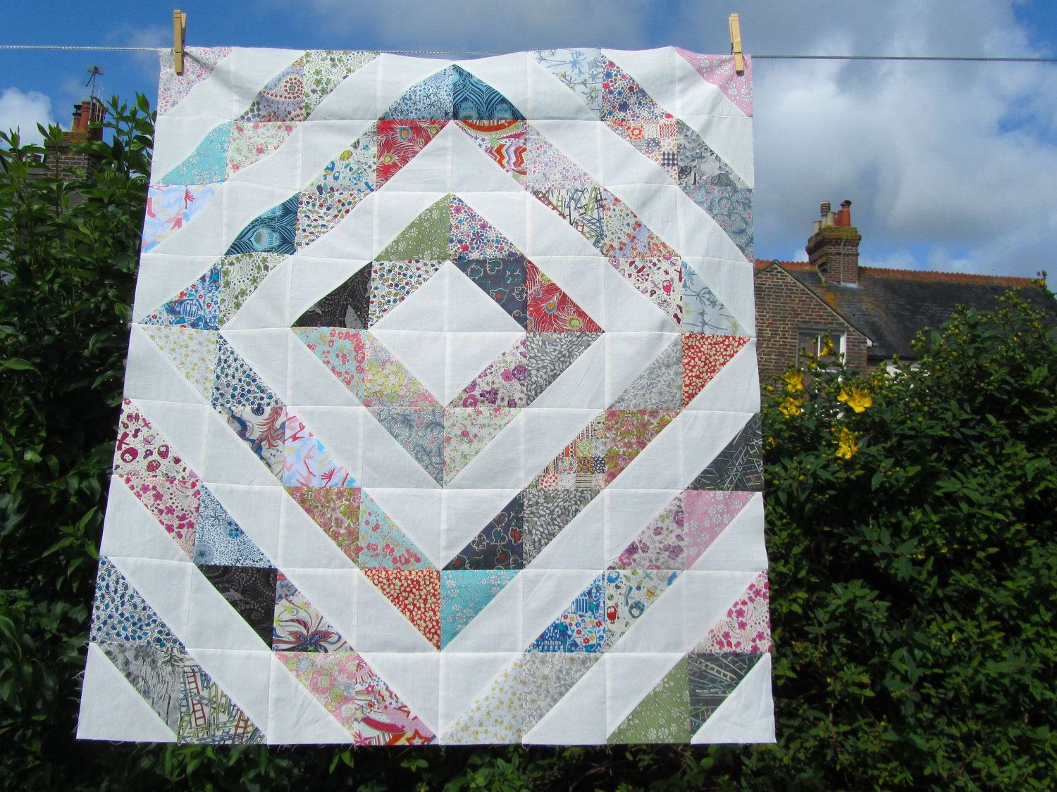 Liberty of London ispiration quilt | Passions | Pinterest ... : quilt passions - Adamdwight.com