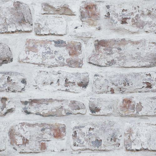Arthouse Realiste Chaule De Vieux Mur De Briques Papier