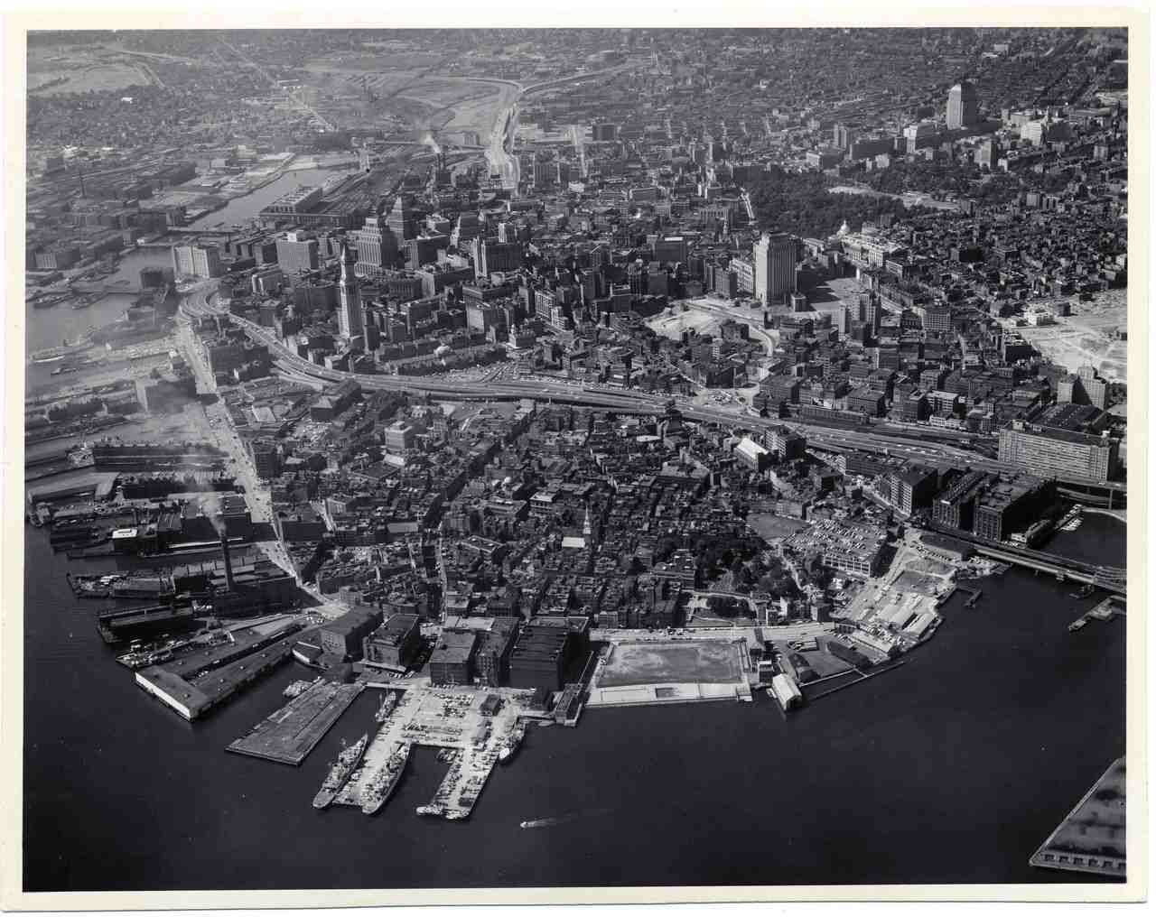 Rooms: 1960s Aerial North End And Downtown