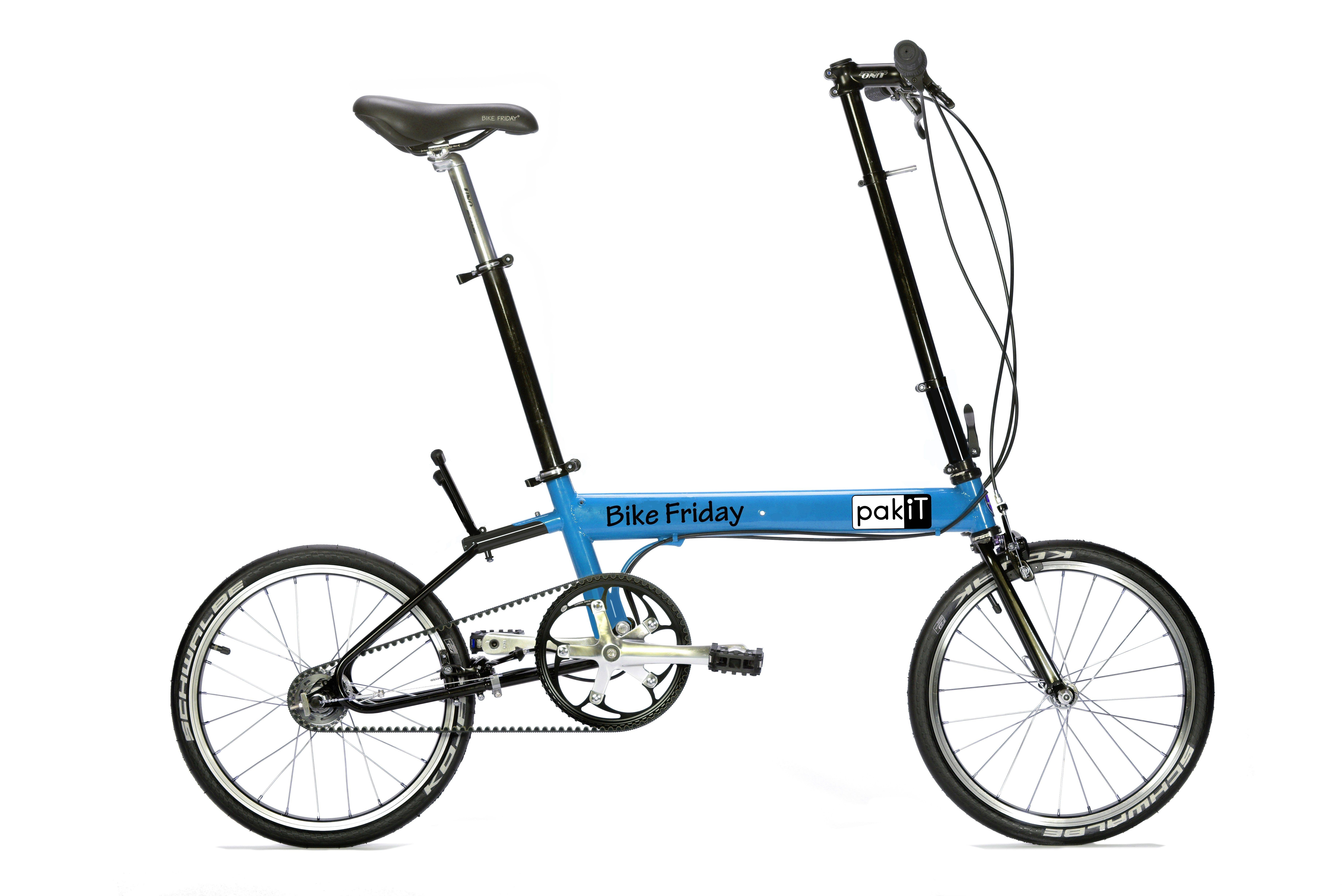Pakit Compact Folding Bike In 2020 Bike Friday Folding Bike