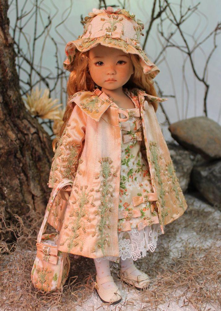 MHD Designs - Boucle De Soie - OOAK Ensemble for Dianna Effner's Little Darlings #ClothingAccessories