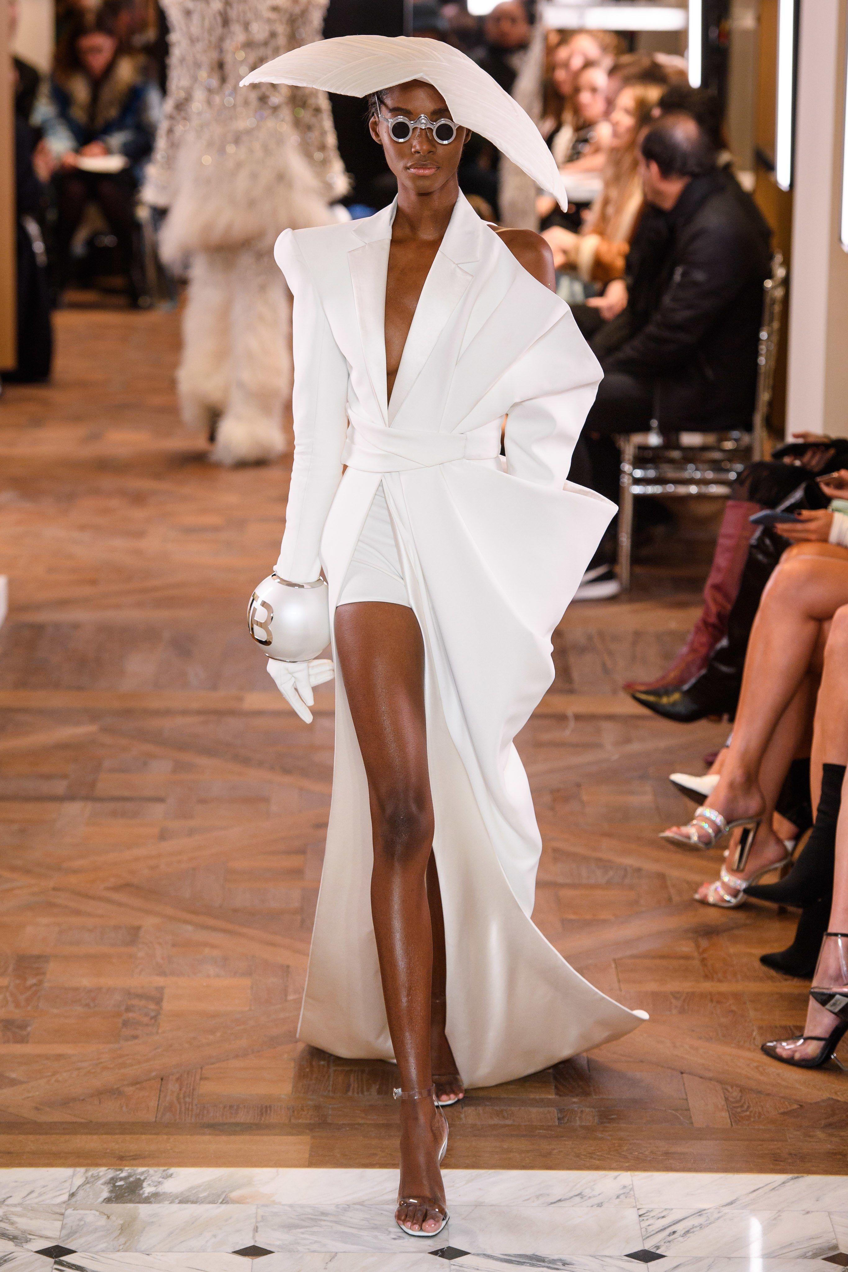 4ec0f8b4 Balmain Spring 2019 Couture Fashion Show in 2019 | designer row ...