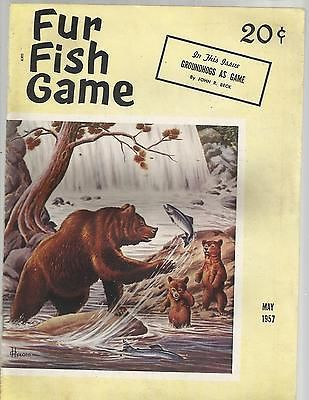 1957 fur fish game magazine may excellent ebay hunting for Fur fish and game