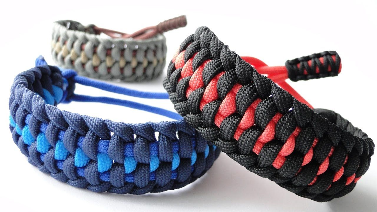 How to Make a Mated Half Hitch Paracord Survival Bracelet