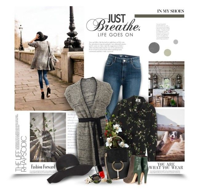 """""""Life Goes On"""" by thewondersoffashion ❤ liked on Polyvore featuring Topshop Unique, Brunello Cucinelli, NARS Cosmetics, Malone Souliers, Dorothy Perkins, StreetStyle, topshop, chloe, brunellocucinelli and malone"""