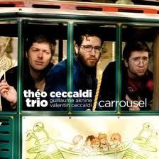 "THEO CECCALDI: "" carroussel "" (ayler records/ayler.com ) jazzman 641 p74 REVELATION  personnel: Théo Ceccaldi, violin  Guillaume Aknine, electric guitar  Valentin Ceccaldi, cello http://www.qobuz.com/album/carrousel-theo-ceccaldi-trio/0887396369849"