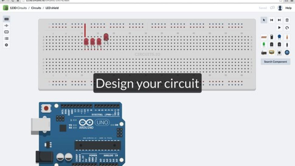 123D Circuits Is a Free, Collaborative Electronics Design Tool ...
