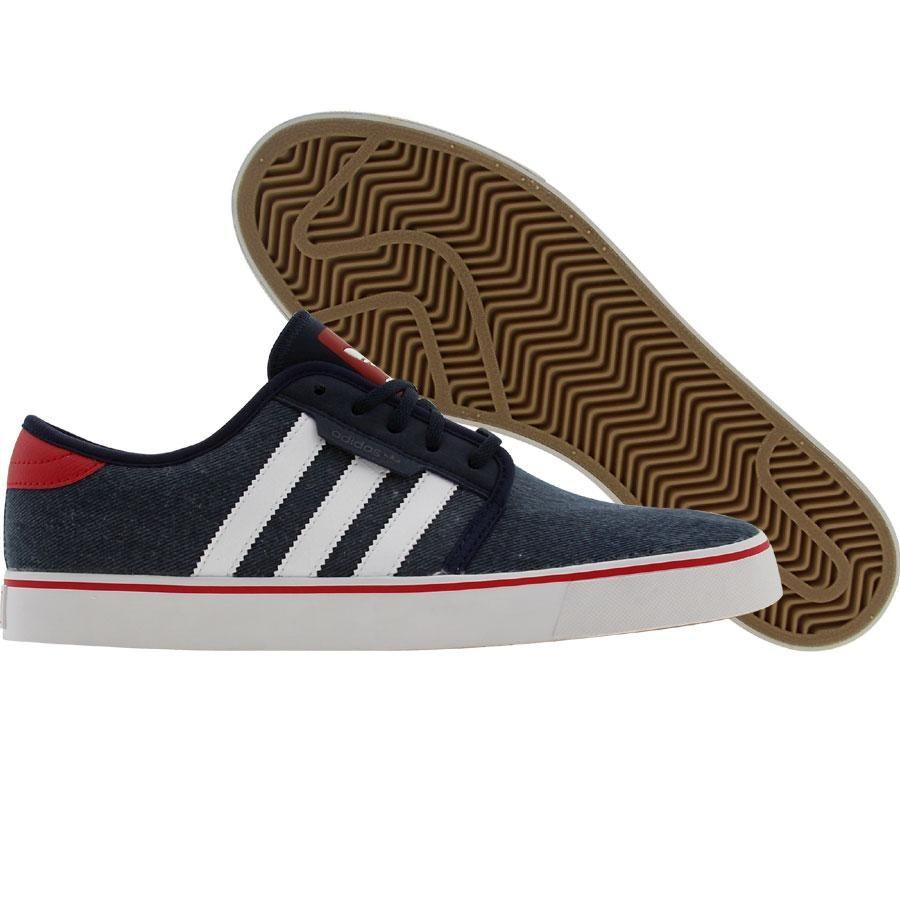 hot sales de9b1 9d3da Adidas Skate Seeley (college navy  runninwhtie  university red) G59207 -  64.99