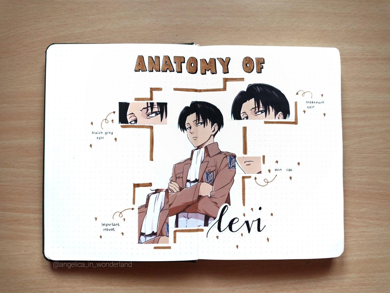 Pin On Anime Bullet Journal Ideas