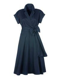 84f86074f39536 Sommerkleid in Wickeloptik mit kurzen Ärmeln | Hochzeit | Kleider ...