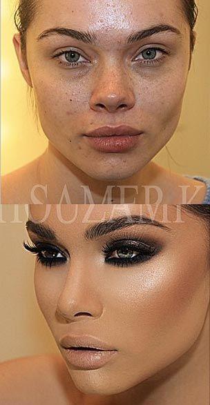 13 Instagram transformations you almost won't believe Makeup Goals, Love Makeup, Makeup
