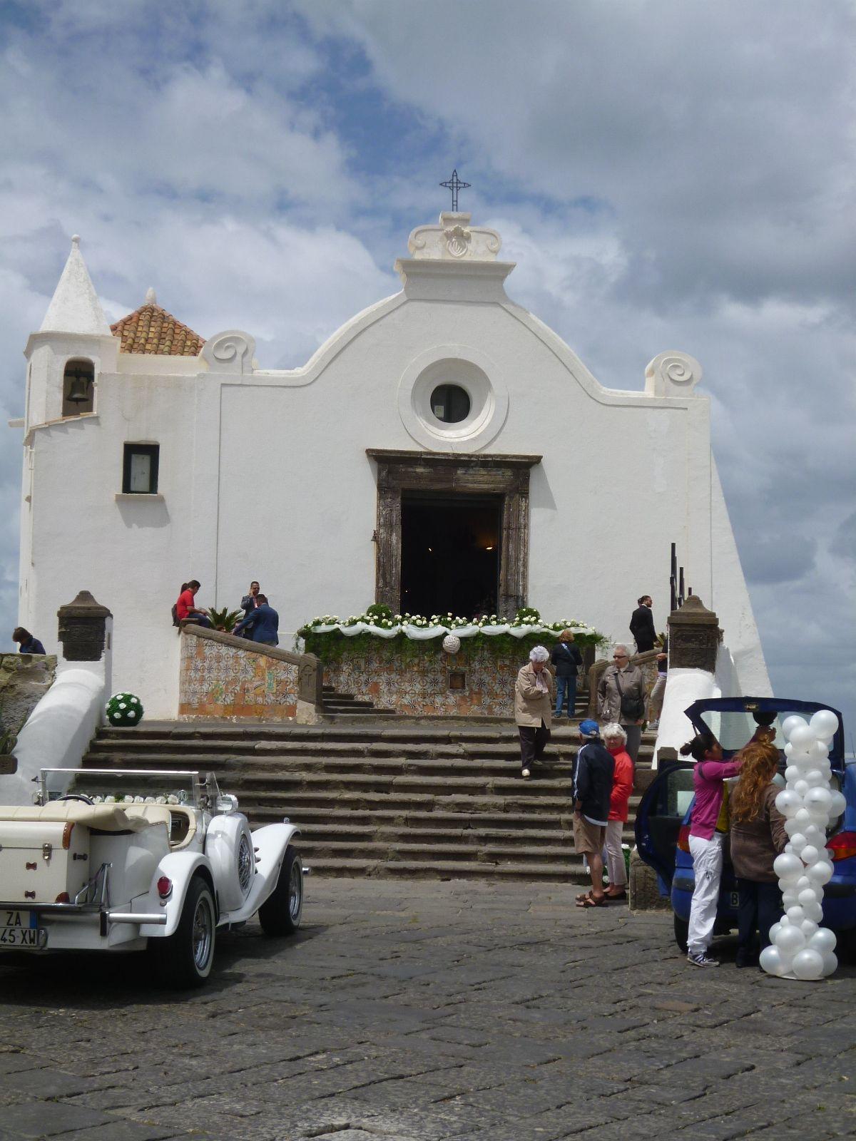 Chiesa del Soccorso, Forio, Isola Ischia Italia (Maggio