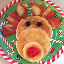 Reindeer pancake :) How cute!