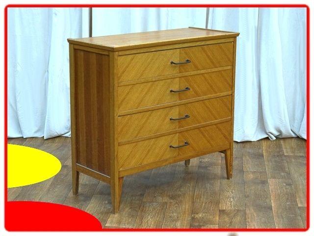 Commode Vintage Annees 1950 Chene Clair Massif Commode Vintage Mobilier De Salon Meuble Vintage