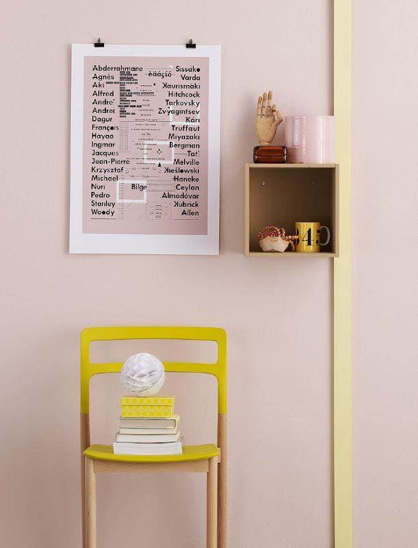 Styling Tina Hellberg, Photo Magnus Anesund Pink And Yellow