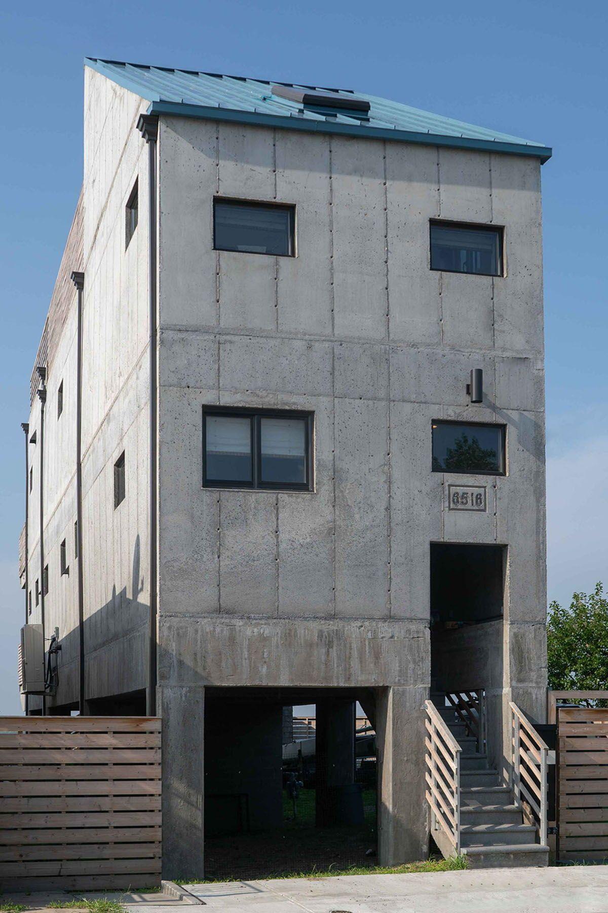 Modern Concrete House Exterior Design In 2020 Concrete House Concrete Architecture Exterior Design