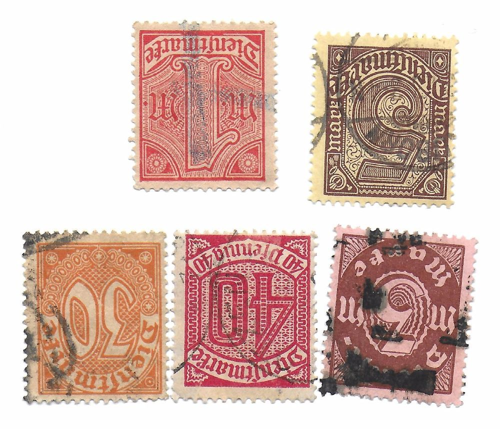 Lot 2 Old Stamps Of Germany No Reserve Auction Unsearched For Value Old Stamps Stamp Auction