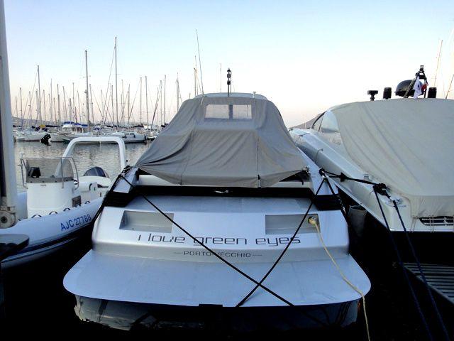 Great boat name - 'I love green eyes' #corsica
