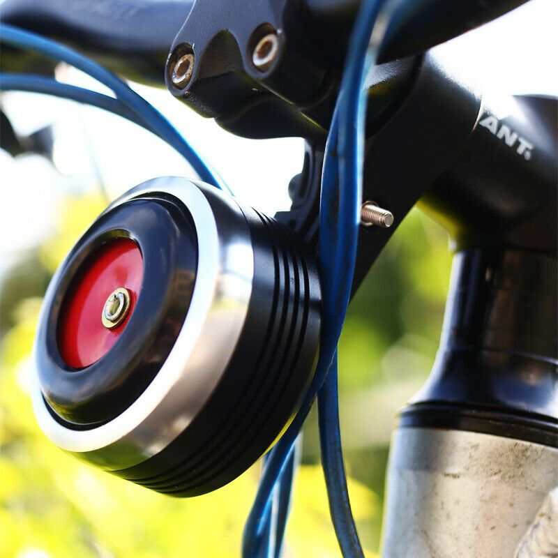 Electric Bicycle Bell Charging Bike Bell With Alarm Loud Sound