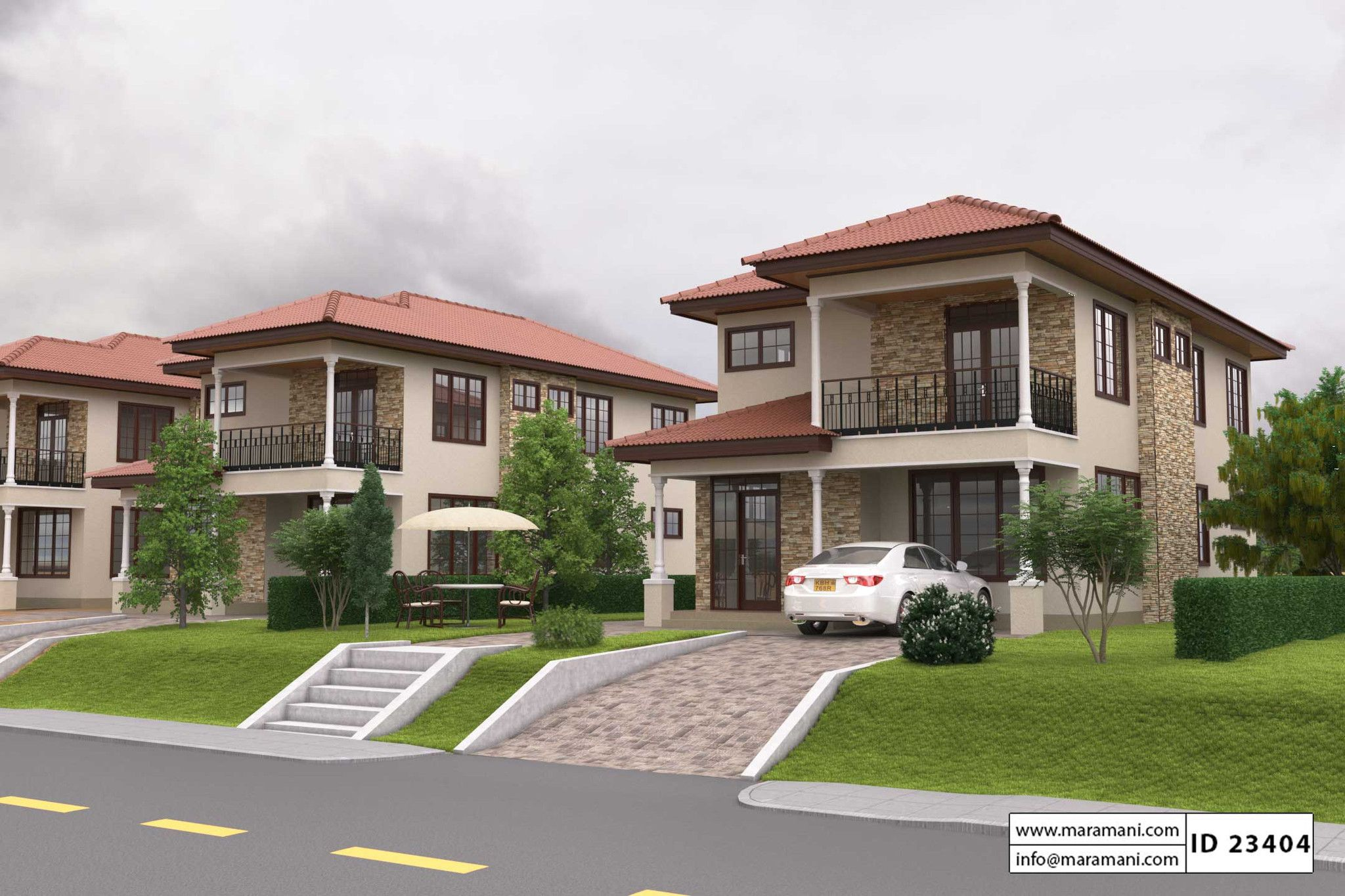 3 bedroom house plan id 23404 bedrooms and house for Mansion plan