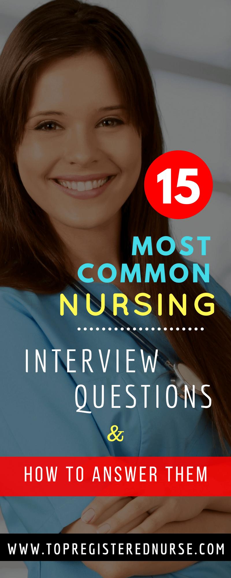 Registered Nurse Interview: Nursing Interview Questions ...