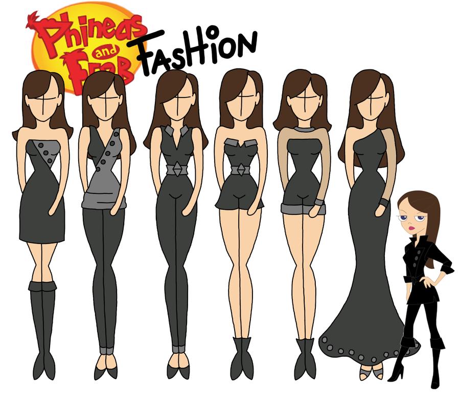 Moda Feminina Inspirada No Phineas & Ferb.