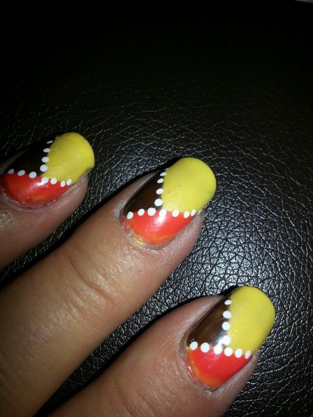 Fall Nail Art At Beyond Beauty Waterloo Iowa Nails Pinterest