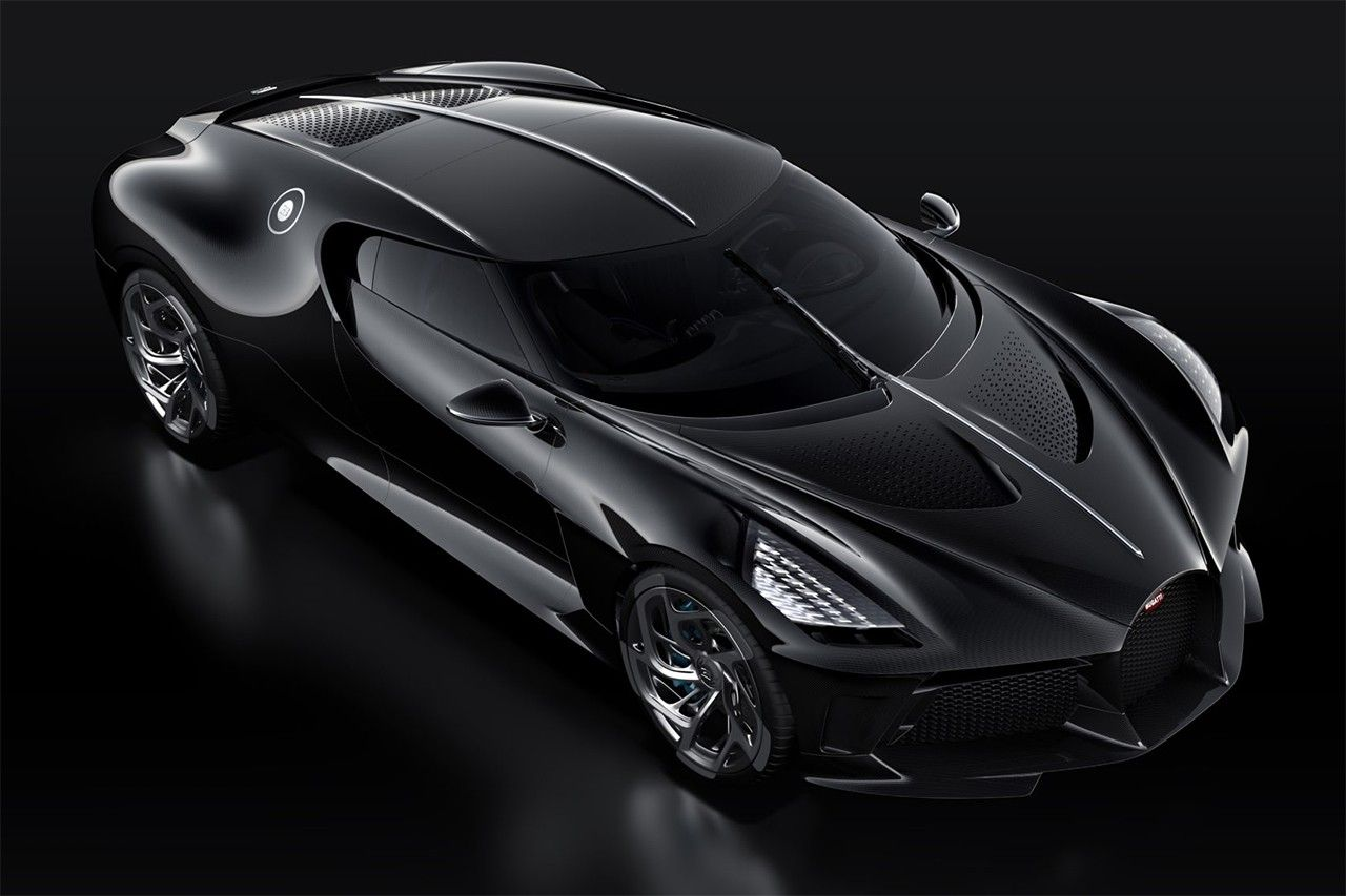 Bugatti Debuts The Most Expensive New Car Of All Time Bugatti Black Car Bugatti Veyron