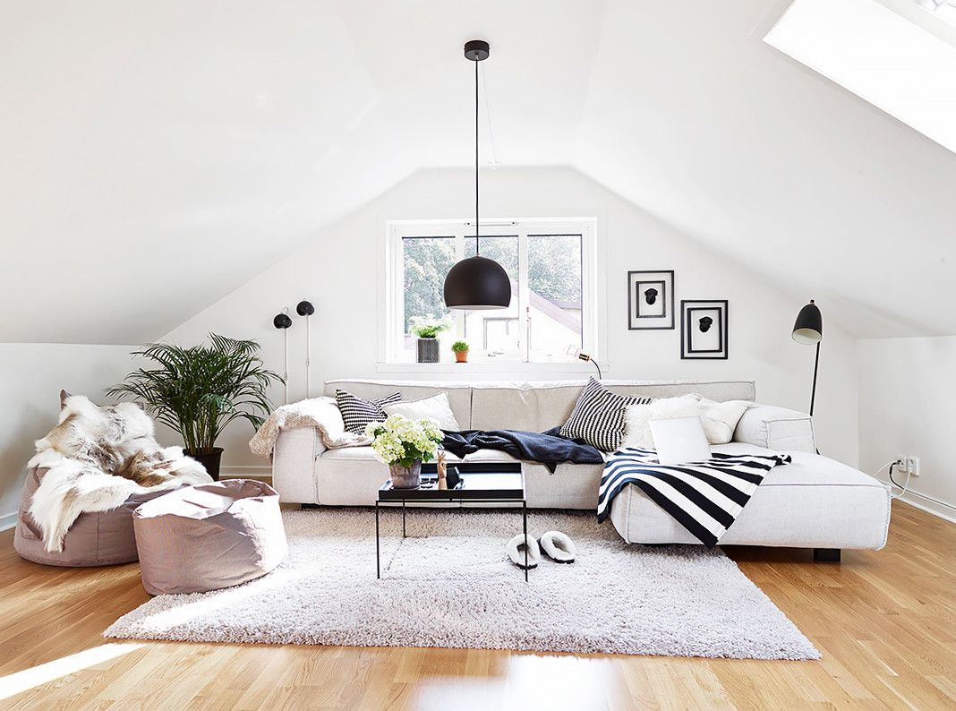 This Stylish Trend Takes Poufs to the Next Level | Living rooms ...