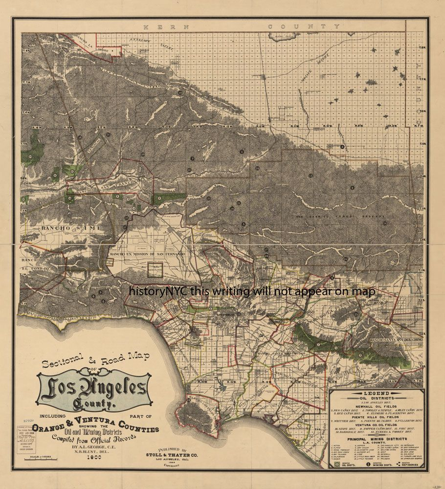Welcome To Historynyc Historical Maps Poster Books And Custom Framing Old Map Historical Maps Los Angeles County
