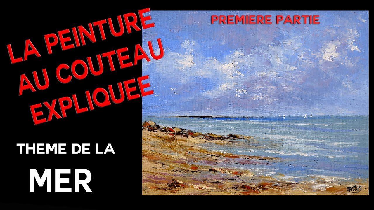 Marine - Cours de peinture au couteau - Premiè