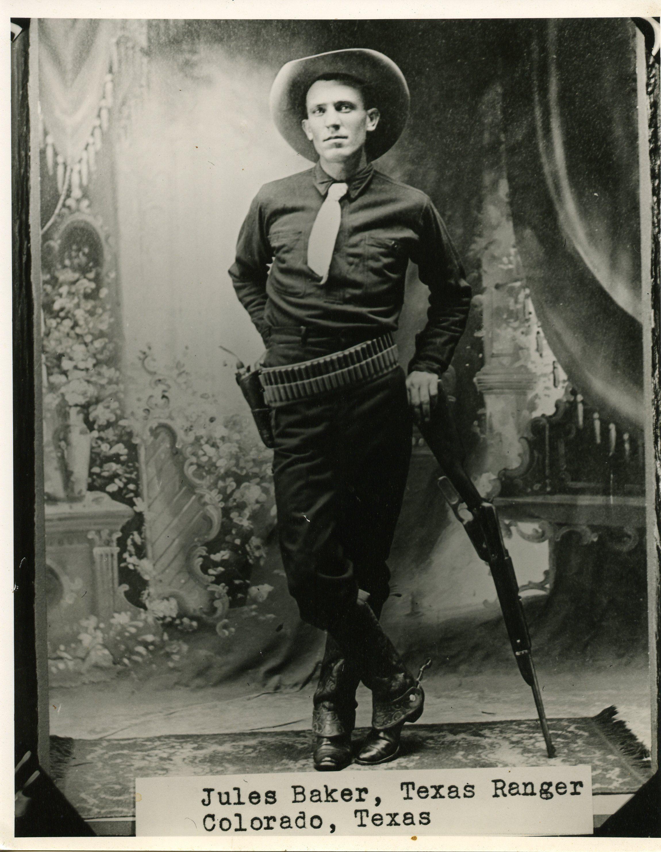 Jules Baker, Texas ranger, quite a looker too | History
