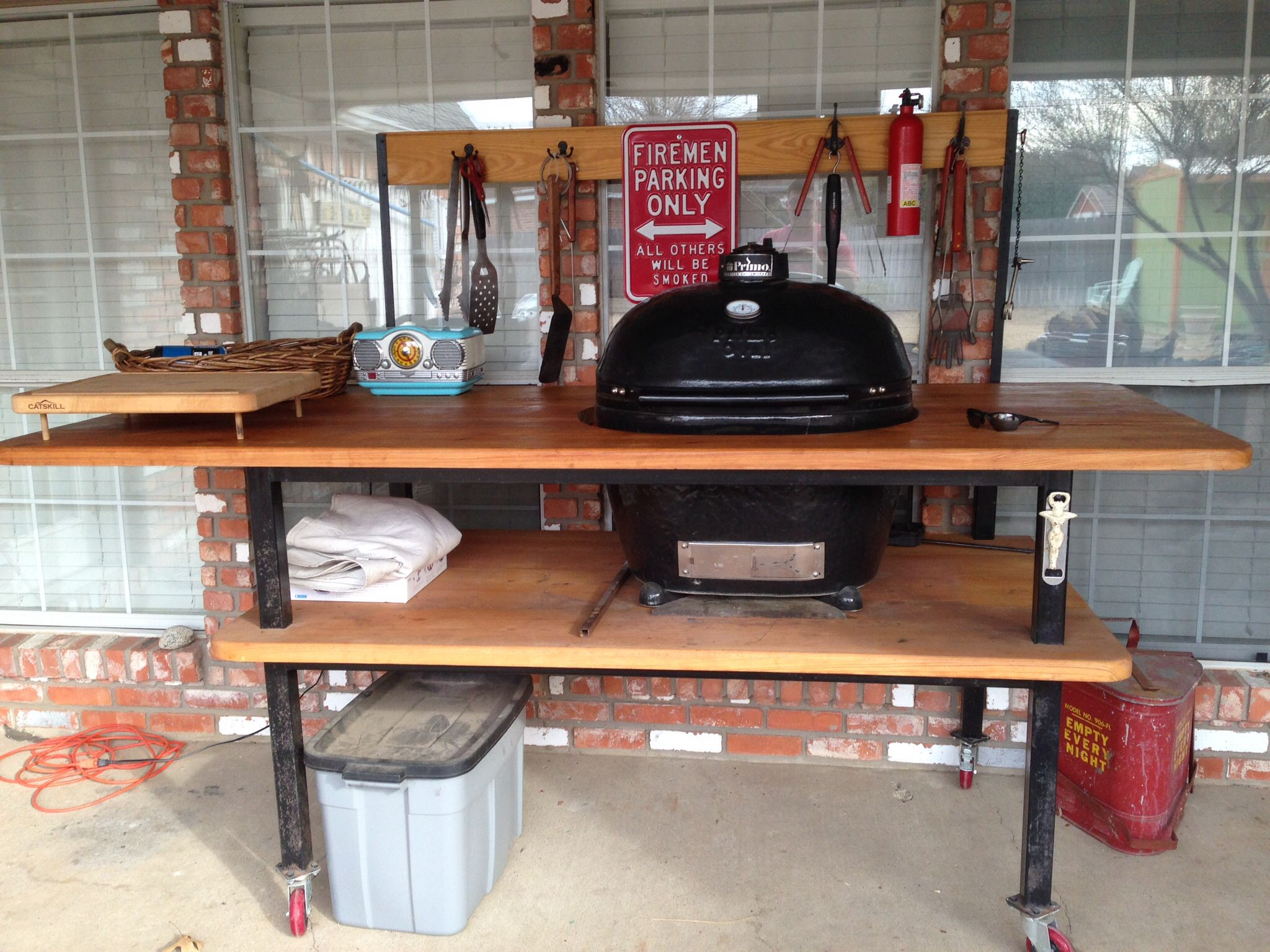 Nice This Is My Custom Made Primo Grill.