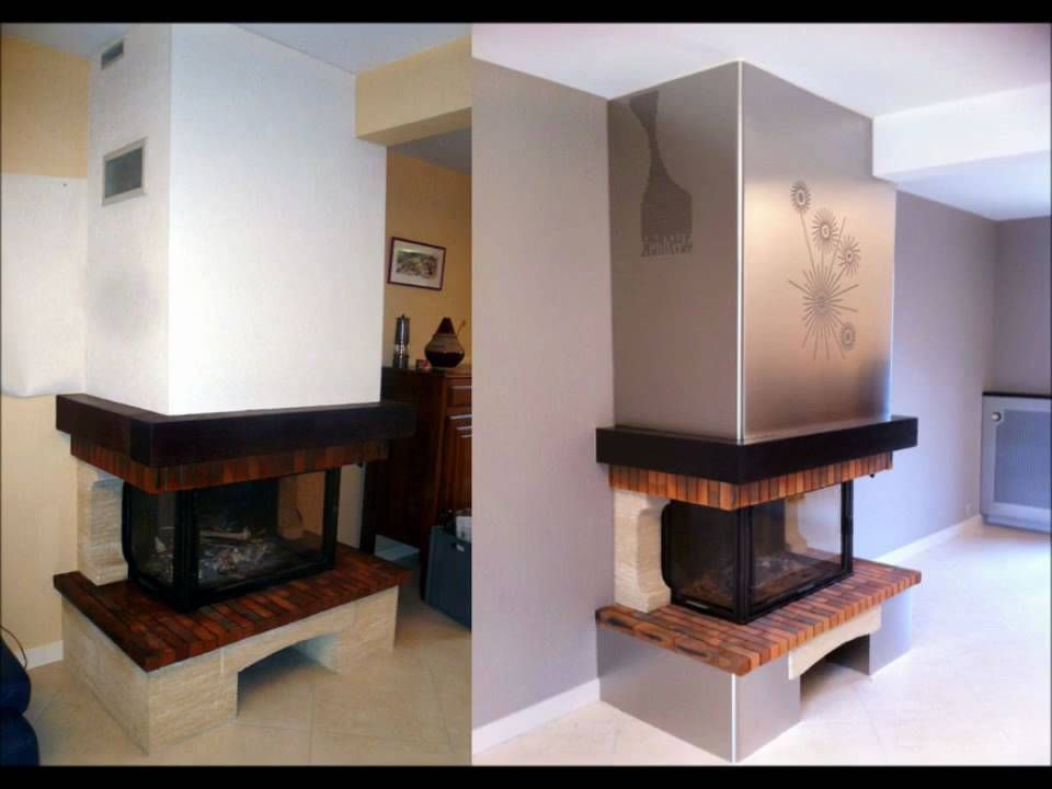 afficher l 39 image d 39 origine chemin e pinterest moderniser cheminee chemin e et images. Black Bedroom Furniture Sets. Home Design Ideas