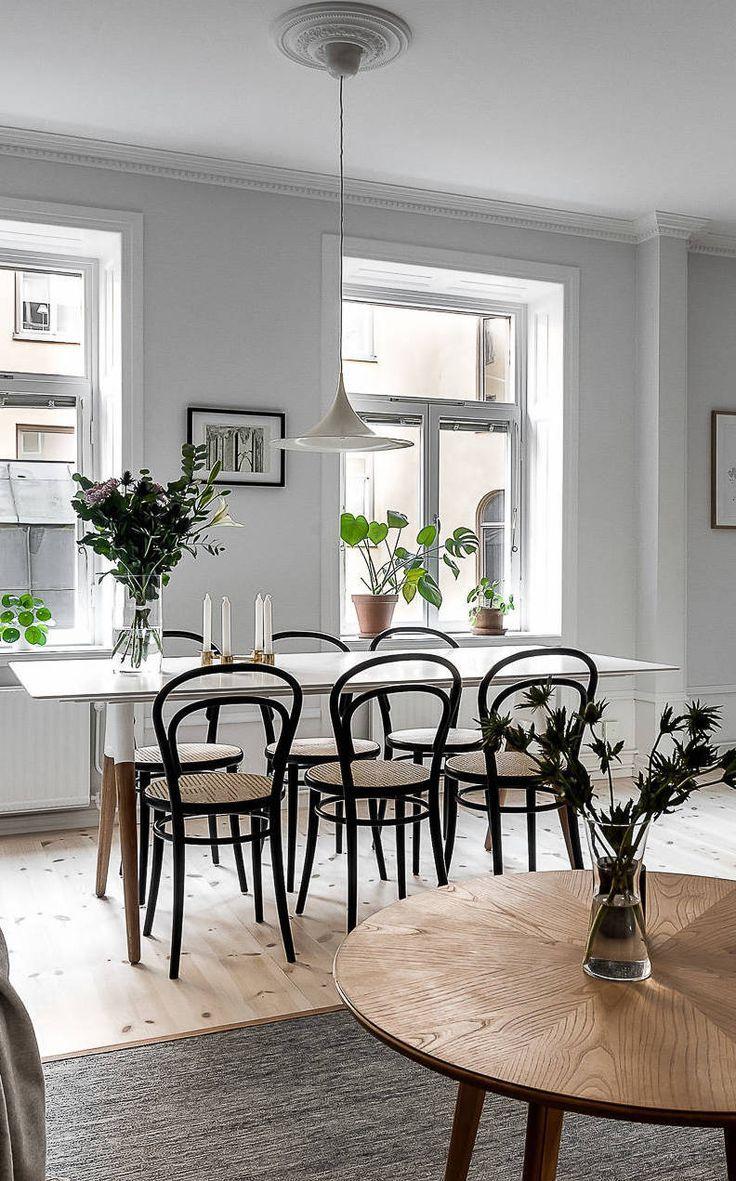 Esszimmer Mit Klassischen Thonet Stühlen   Via Coco Lapine Design Blog |  Home | Pinterest | House Goals, Dining Area And Kitchens