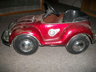 antique junior sportsters pedal car