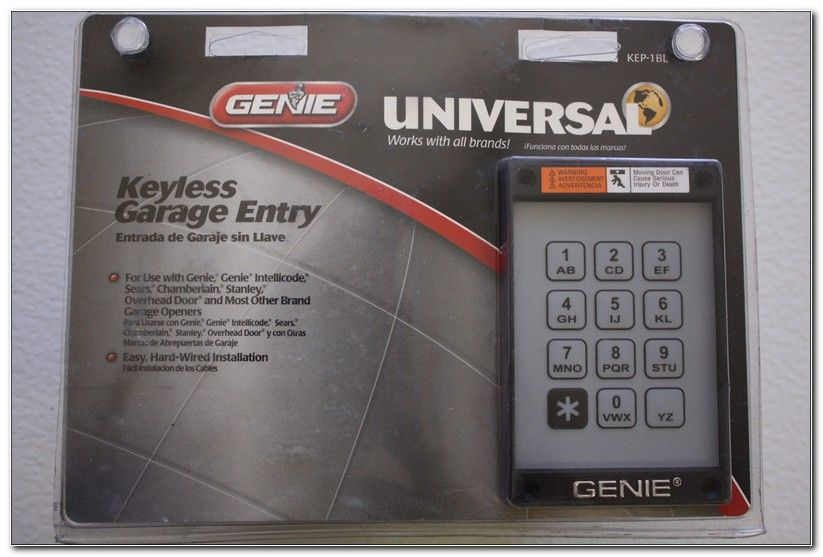 Hard Wired Keypad Garage Door Opener Check More At Http
