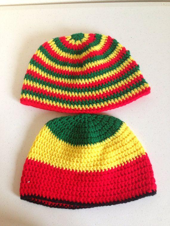 Men's Rastas hats by Crochetinsanity on Etsy