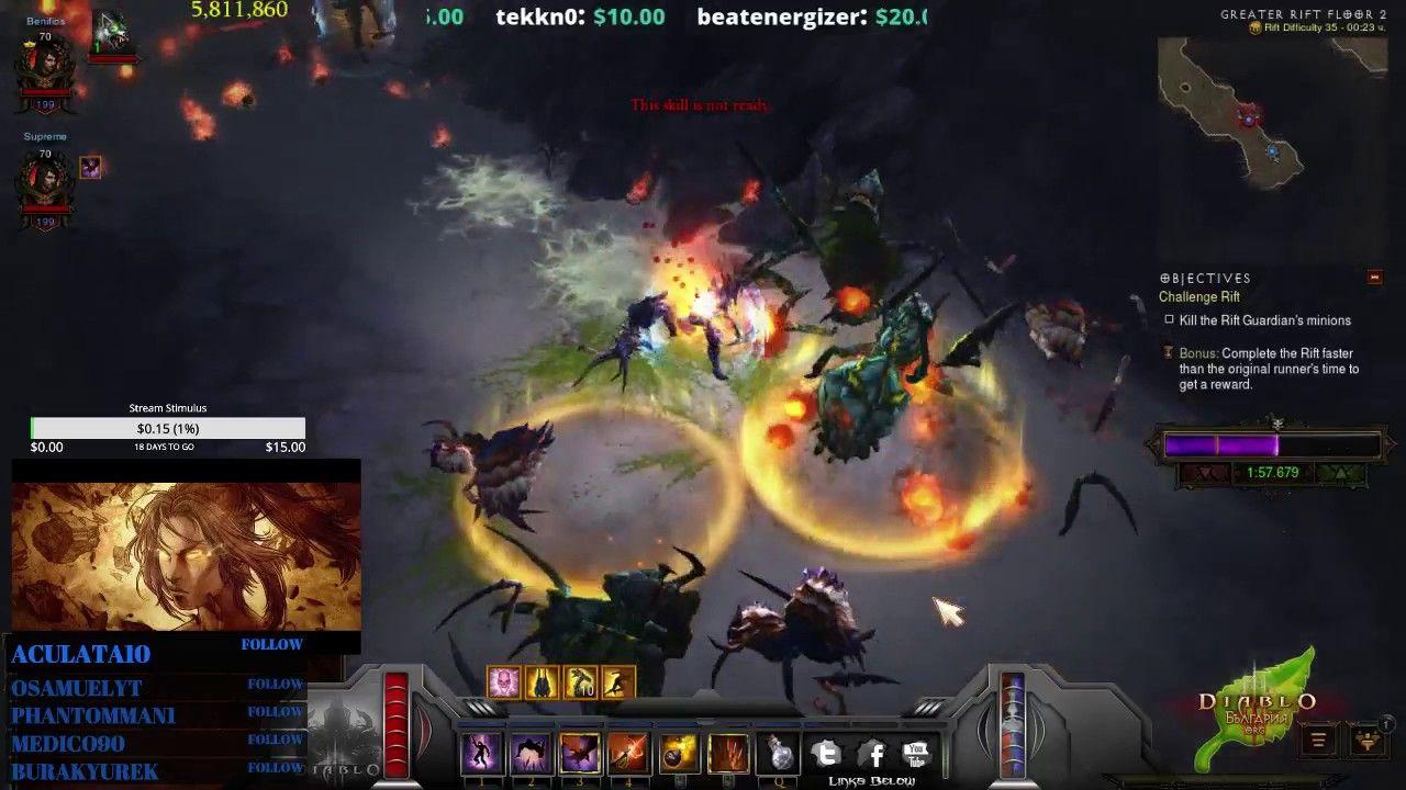 Diablo III] Patch 2 6 0 Challenge rifts #Diablo #blizzard