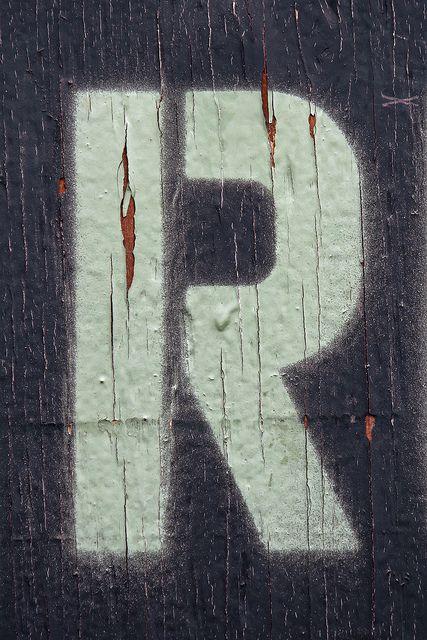 Stencil R, me encanta el stencil!