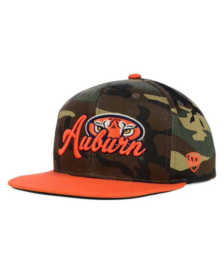 8e6349cfb8a Top of the World Auburn Tigers Ncaa Blaster Camo Hat