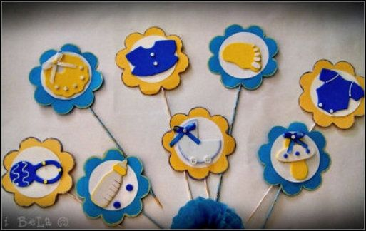 Manualidades Sencillas Para Baby Shower.Ideas Para Baby Shower En Foamy Y Goma Eva Manualidades