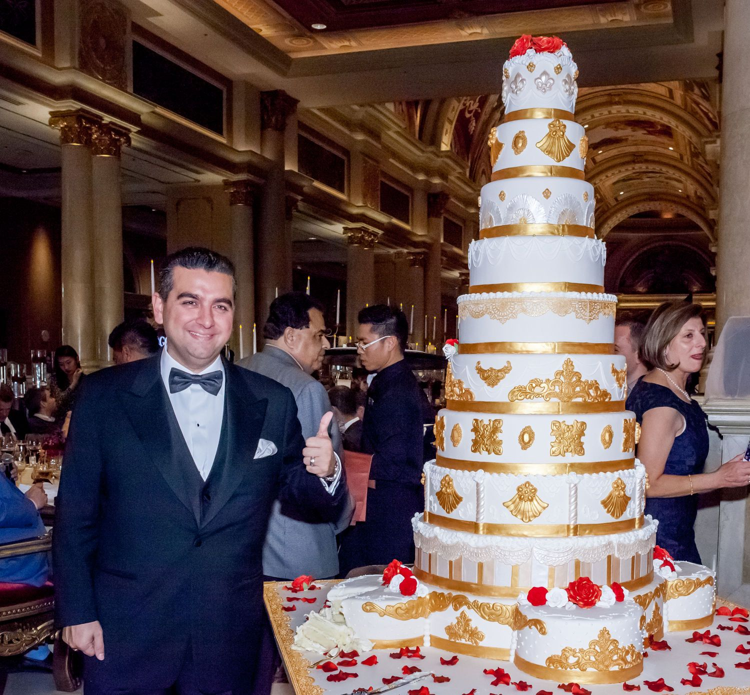 how to get a cake from cake boss