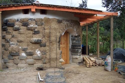 Building Materials Gallery Earthship Home Recycled House Earthship