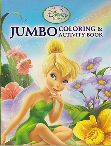 Disney Fairies Jumbo Coloring Activity Book You Can Find Out More Details At The Link Of The Image Affiliate Link Disney Fairies Color Activities Disney