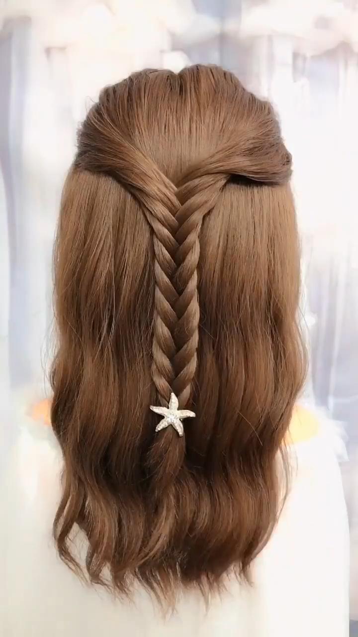 18 Exquisite Easy Fishtail Braid Hairstyle Tutorial For Women Br Flechtfrisuren Lange Haare Kinder Haare Flechten Anleitung Schone Frisuren Mittellange Haare